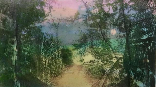 Lucinda Luvaas, 'Moonlit Forest', 2018, Walter Wickiser Gallery