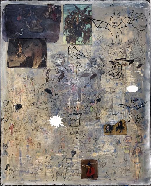 , 'Las Tentaciones de San Antonio III,' 2018, MAIA Contemporary
