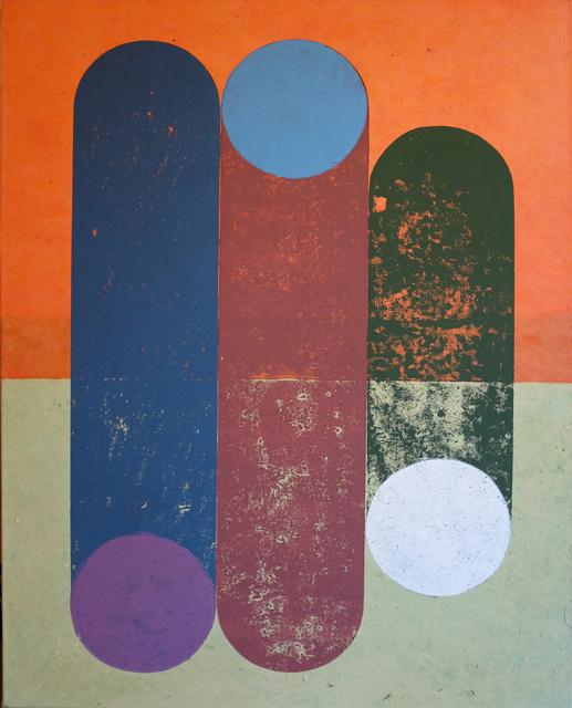 , 'o.T. (Wood) ,' 2018, Galerie Heike Strelow