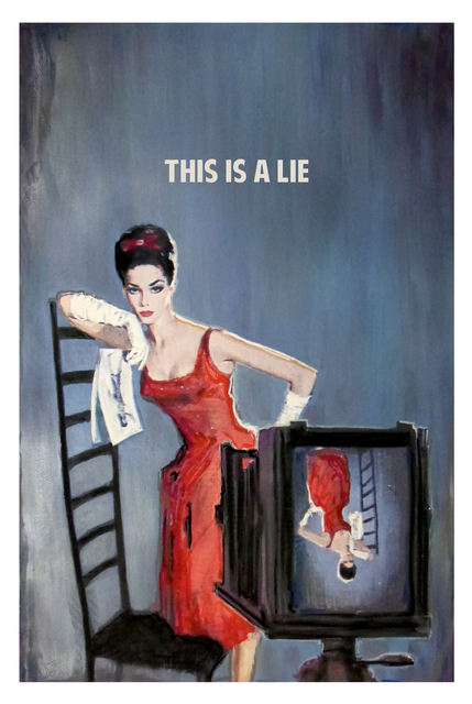, 'This Is A Lie ,' 2017, Maddox Gallery
