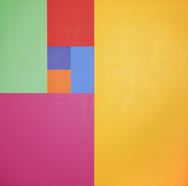 , 'Septenary Yellow,' 1974, David Richard Gallery