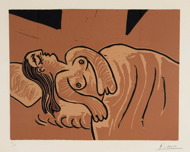 , 'Femme endormie [Dormeuse],' 1962, Marlborough Gallery
