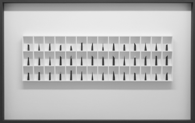 , 'Procession 42 pieces,' 2018, bo.lee gallery