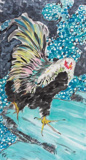 , '昂然阔步Haughty Cock,' 2016-2017, Aye Gallery