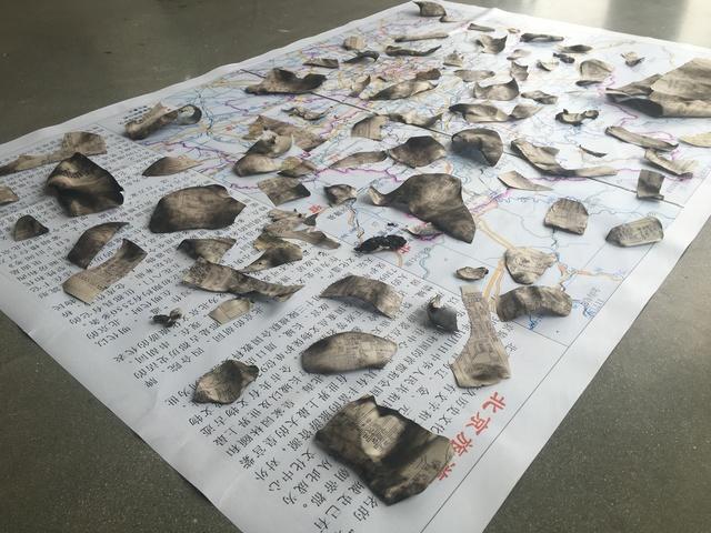 , 'Beijing Tourist Map,' 2017, Z Gallery Arts