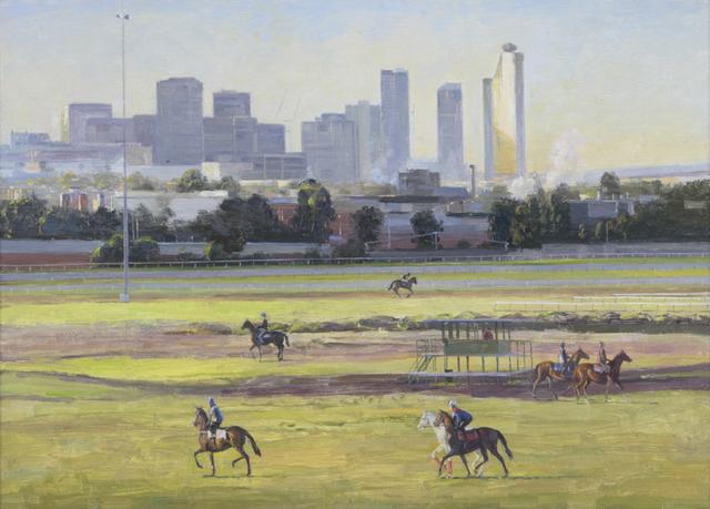 , 'Trackwork at Flemington #4,' 2014, Charles Nodrum Gallery