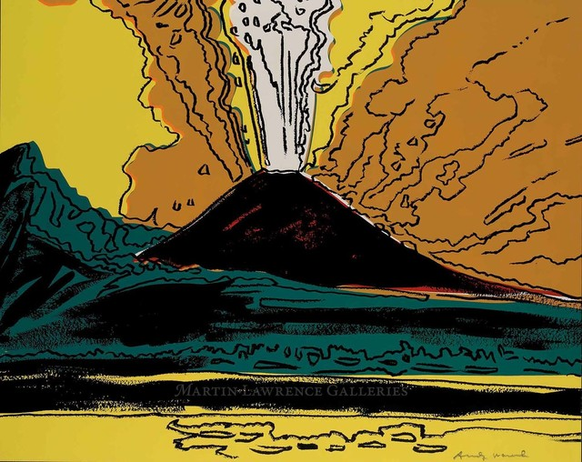 Andy Warhol, 'Vesuvius, 1985 (#365)', 1985, Martin Lawrence Galleries