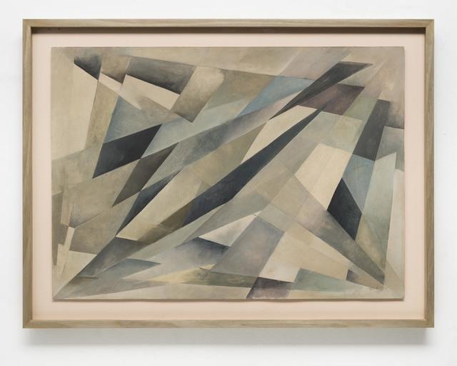 , 'Vai e Vem Diagonal,' 1957, Bergamin & Gomide