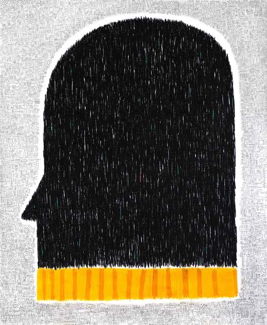 Victor Ekpuk, 'Head Of State ', 2019, Aicon Gallery