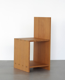 Donald Judd, 'Chair,' 1984, Sotheby's: Important Design