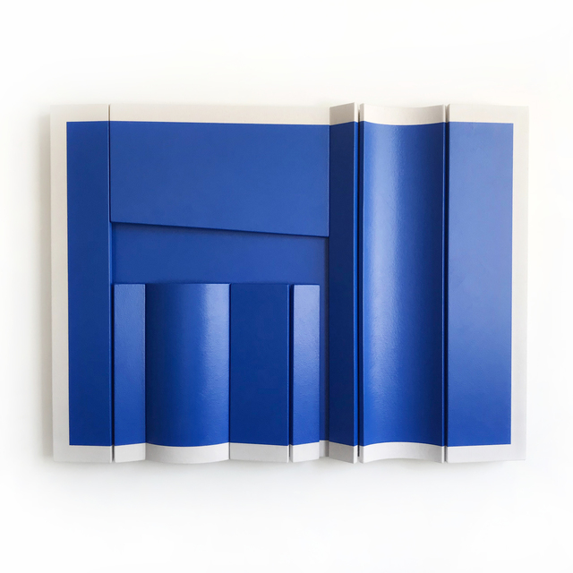, 'Untitled Blue Rectangle,' 2018, g.gallery