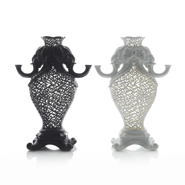 , 'A Pair of Elephant Vases,' 2018, Adrian Sassoon