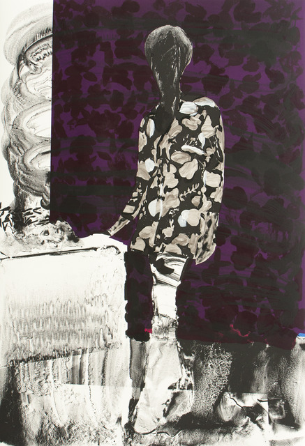 , 'Mrs. S. Keita - Purple,' 2010, Durham Press, Inc.