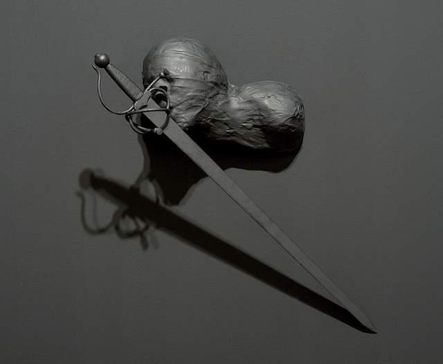 , 'Autorretrato entre la espada y la pared,' 2014, Luisa Catucci Gallery