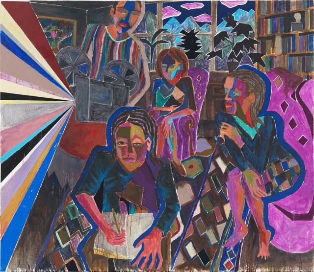, 'Die unsichtbare Schicht,' 2015, Hans Alf Gallery