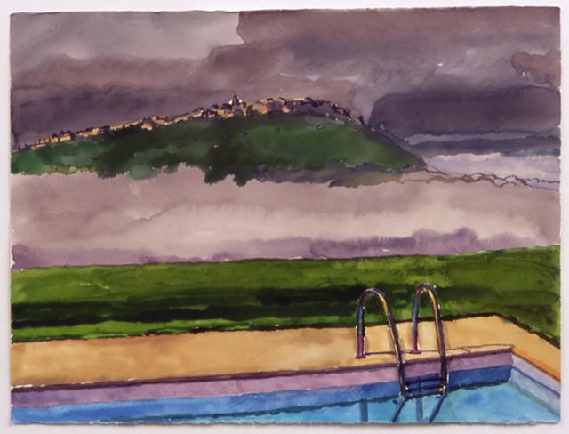 , 'Pool Cloud,' 2002, Betty Cuningham