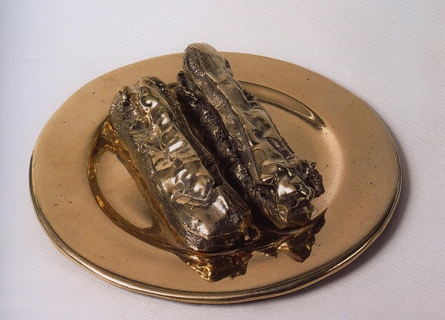 Clive Barker, 'Two Chocolate Eclairs', 2006, Whitford Fine Art
