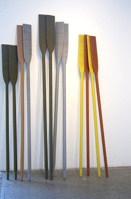 , 'Untitled (oars),' 2015, Gallery 16