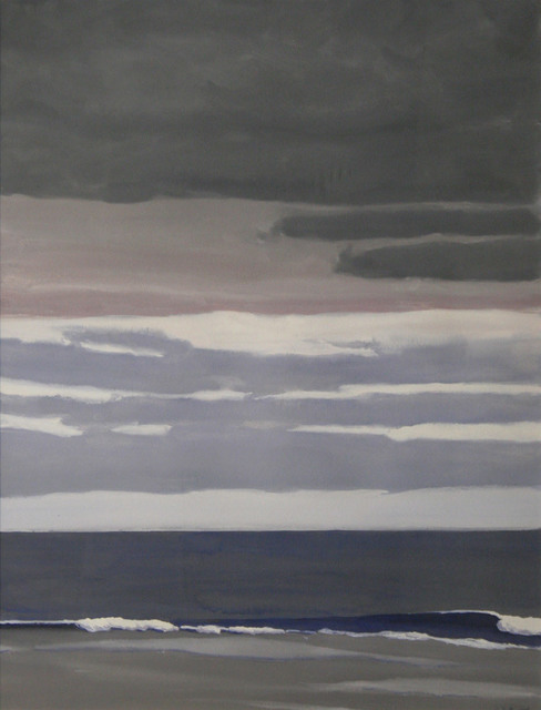 John Button, 'East Hampton, Approaching Storm', 1978, Painting, Gouache on paper, ClampArt