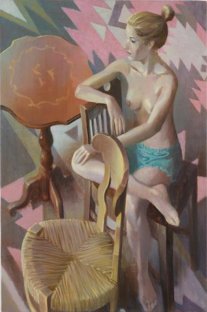 , 'Aztec Rug II,' 2015, Monica De Cardenas