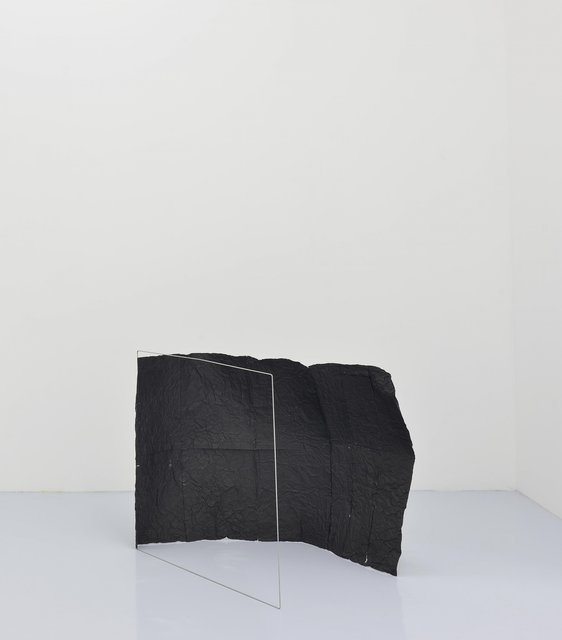 , 'Untitled (Black) Floor,' 2015, Travesia Cuatro