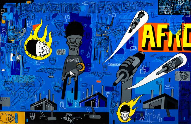 , 'The Amazing Afroboy,' 2015, DETOUR Gallery