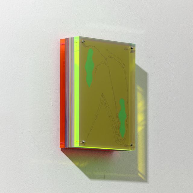 , 'Linee Riflesse 64,' 2016, A arte Invernizzi