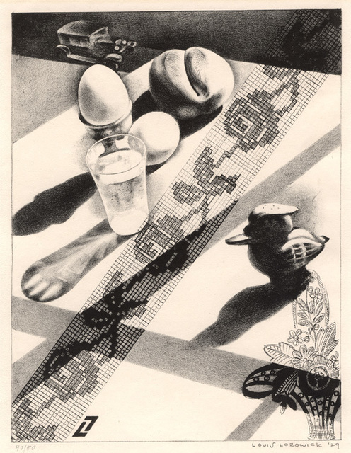, 'Breakfast,' 1929, Conrad R. Graeber Fine Art