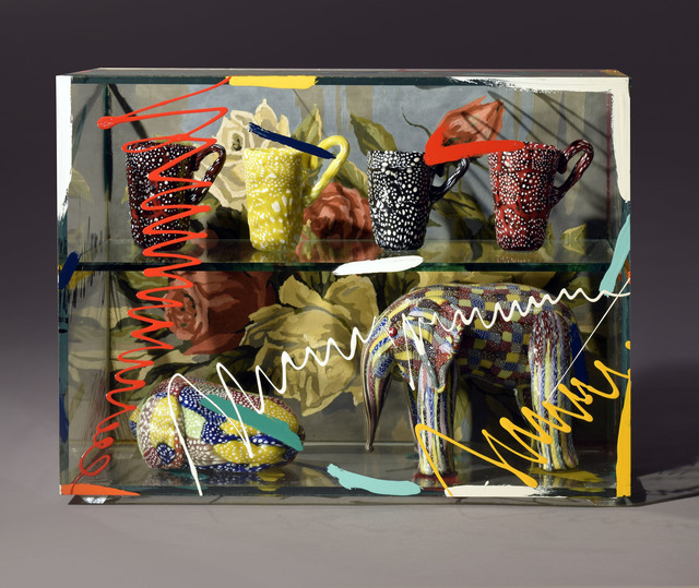 Richard Marquis, 'Granulare Elephant and Cup Box Roses', 2015, Schantz Galleries