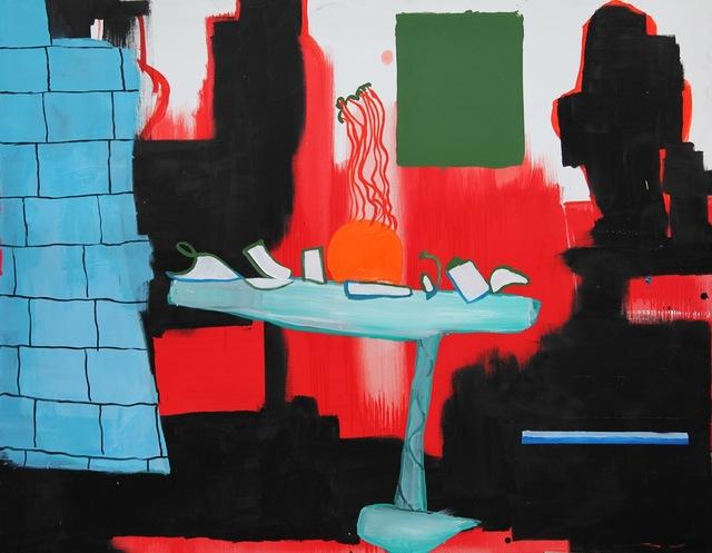 , 'Repas rouge,' 2015, Odile Ouizeman