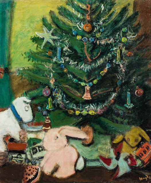 Henri Hayden, 'L'Arbre de Noël', Painting, Oil on canvas, Leclere