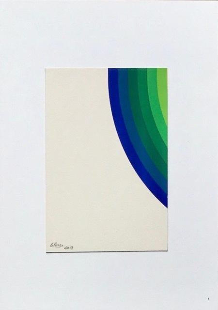 Julio Le Parc, 'Pochoir unico #11', 2013, Kunzt Gallery