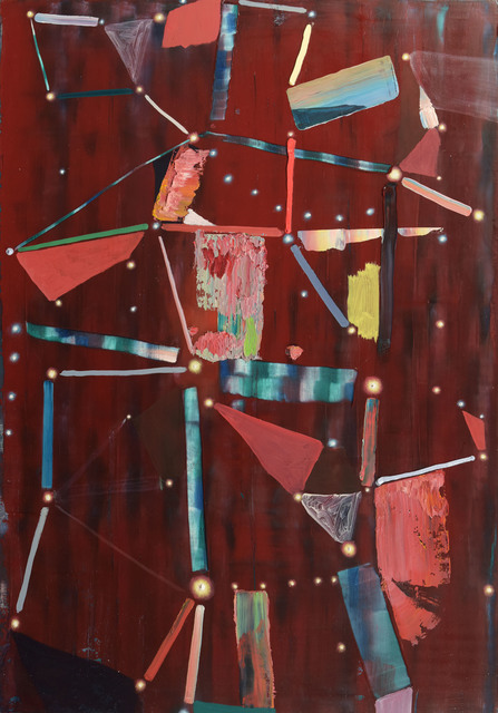 , 'Red Constellation,' 2015, Galerie Kornfeld