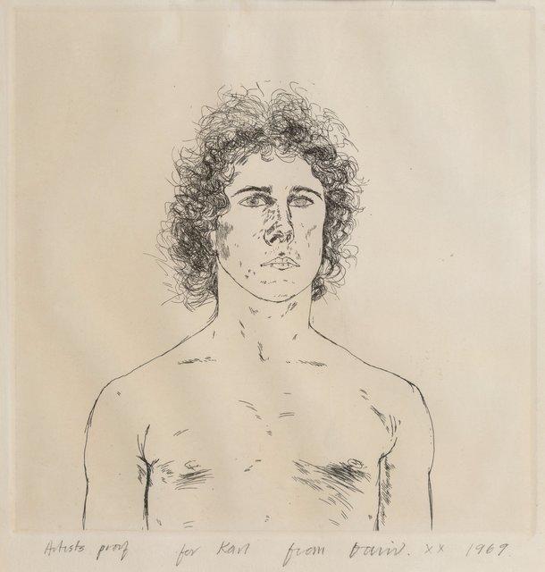 David Hockney, 'Wayne Sleep', 1969, Heritage Auctions