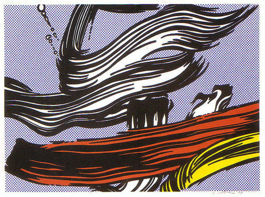 Roy Lichtenstein, 'Brushstrokes', 1967, michael lisi / contemporary art