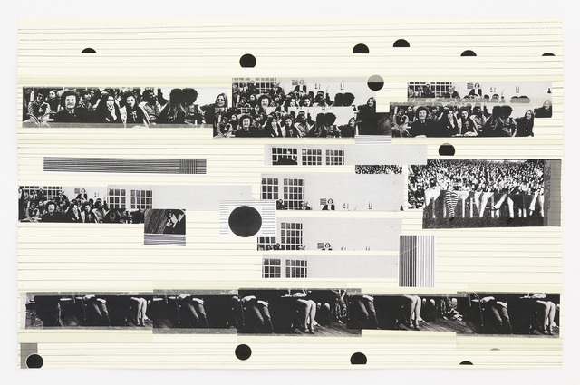 , 'Again Audience / Collage 4,' 2012, Galerie Andreas Huber