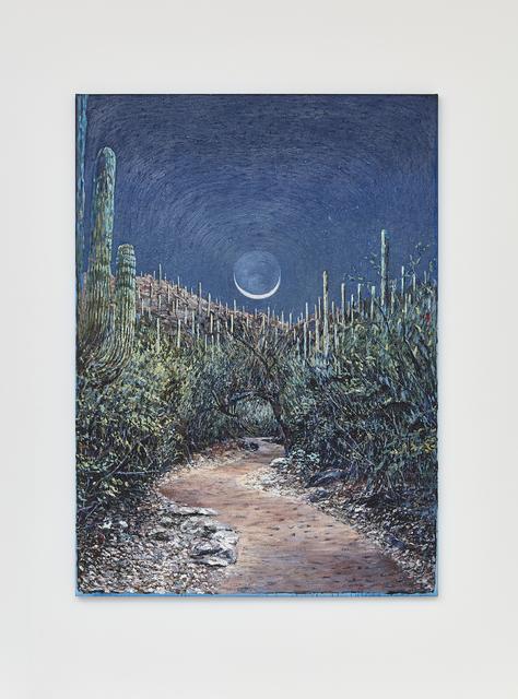 , 'Wet Moon, Clear Path (Tucson),' 2017, Klowden Mann