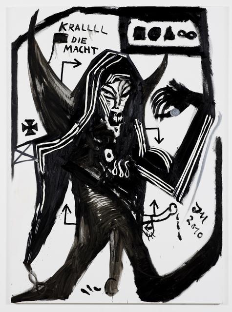 , 'KRALLLL die MACHT jeden DR. DR. DR. FREITAG,' 2010, Galerie Daniel Templon