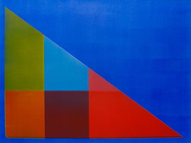 Jonathan Forrest, 'Blue Crossing', 2018, Newzones