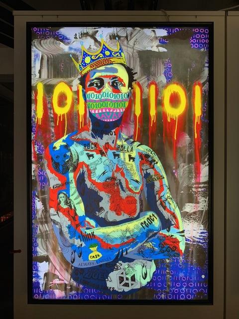 Norman O'Flynn, 'Timekeeper 35 -King', 2017, Print, Lightbox, LED, dimmable, Art Supermarket