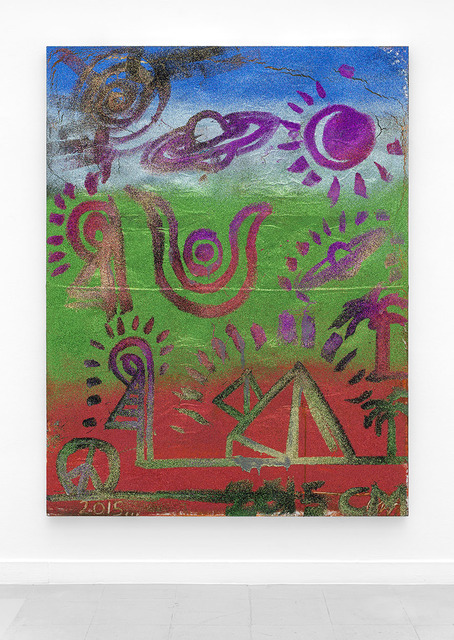 , 'Egyptian Landscape,' 2015, Rodolphe Janssen