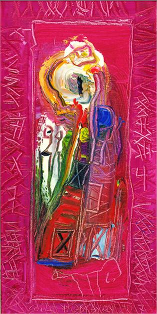 , 'Burning Fire,' 2017, Walter Wickiser Gallery