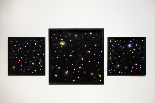 , 'Survival Does Not Lie In The Heavens,' 2012, Inman Gallery
