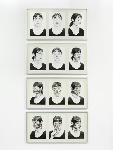 , 'Selbst II , 1-12 (Self II, 1-12),' 1975, Richard Saltoun