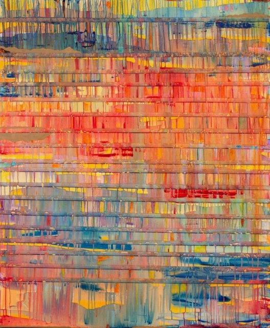 Javier David Ramos, 'Fenestra III', 2020, Painting, Mixed media on canvas, Biaggi & Faure Fine Art