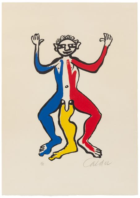 Alexander Calder, 'Three Legged Man', Hindman