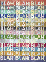 Mel Bochner, Blah Blah Blah