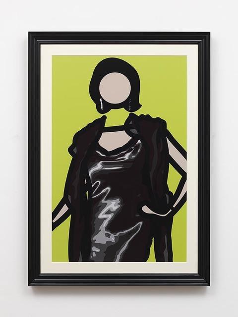 Julian Opie, 'Maria (1)', 2011, Davis Klemm Gallery
