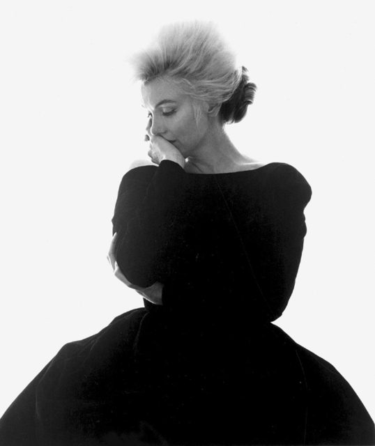 ", 'Marilyn Monroe: From ""The Last Sitting""  (VOGUE Black Dress),' 1962, Staley-Wise Gallery"