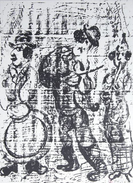 , 'The Wandering Musicians,' 1957, ArtWise